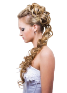 Venus Hair and Beauty Bedford - hair up